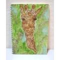 Блокнот із жирафом, А5, авторське оформлення
