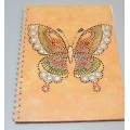 Блокнот із метеликом, А5, авторське оформлення