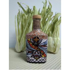 Пляшка декоративна інтер'єрна, авторське оформлення