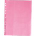 Файл А4 глянцевий 40 мкм, прозорий, червоний