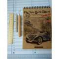 Блокнот-планшет А5 з ручкою, олівцем і лінійкою, набір