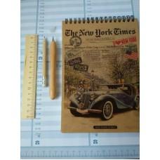 Набір: блокнот-планшет А5, ручка, олівець і лінійка