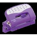 Діркопробивач, 12 аркушів, фіолетовий