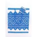 Пакет «Вишиванка» (синя)