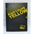 Папка на кнопці А4, серія Black Edition