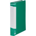 Дисплей-папка А4, зелена, із 60 файлами
