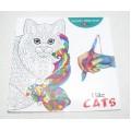 Розмальовка-альбомI like Cats