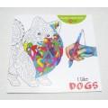 Розмальовка-альбомI like Dogs