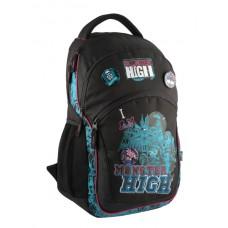 Шкільний рюкзак KITE Monster High для підлітків, модель MH14-815-1K