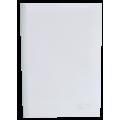 Швидкозшивач А4 з білою планкою, 6 мм