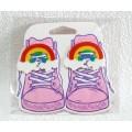 Набір аксесуарів для шнурків Funky laces, Rainbow